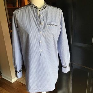 J. Crew long sleeve button down shirt top blouse S